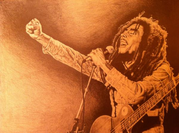 Bob Marley by tom.J.